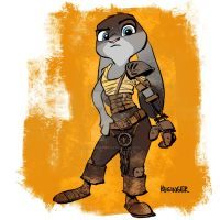 furry-osa by BrianKesinger