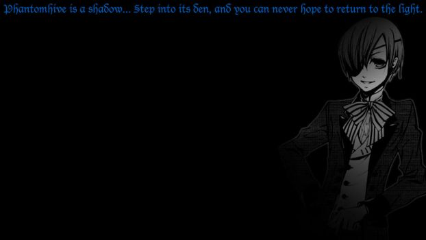 Black Butler Wallpapers - Ciel by fantasiesfuture