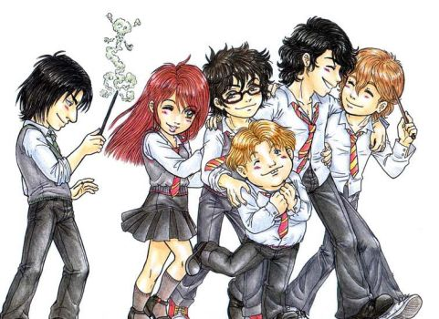 ++Merodeadores+lily+snape++ by xauychu