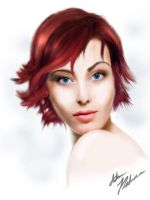 Red head by sporezofchaos