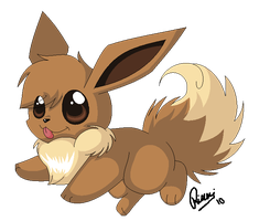 Yet another Eevee by Intellectual-Panda