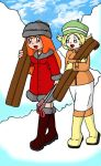 PRH: Snow Bunnies on Skis by sandapolla