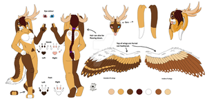 wolpertinger - Refsheet (2 of 2) by Catbirdwoman