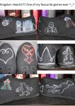 Kingdom Hearts Shoes!!! :D by vashthestampede91