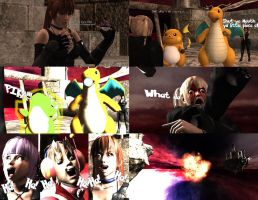 DOA's Fatal Frame: Boss in this Gym ending by MichealJordy
