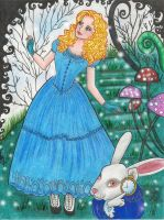 alice in wonderland by Lorelei2323