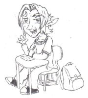 BT Quickey - A Teenage Link by DairyKing
