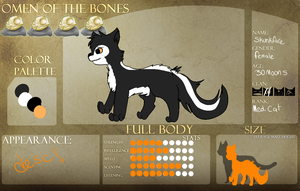 Skunkpelt application sheet for OOTB by chlckadee