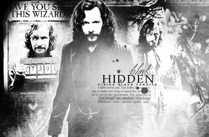 Hidden Sirius Black by aDancerToTheMoon