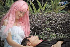 Lacus Clyne and Kira Yamato 3 by z3LLLL
