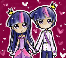 Princess and Prince by Annie-Aya
