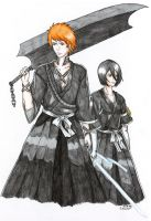 Bleach: Just Like Back Then by CrimsonStigmata2501