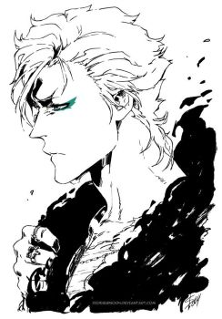 Bleach: Grimmjow by Sideburn004
