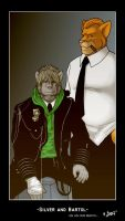 Silver and Bartol, An old Pic. by brownkuma