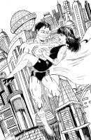 Superman and Lois by C4L