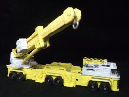 Transformer Erector, Micromaster homage by forever-at-peace