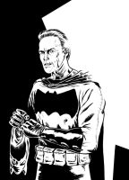 Dark Knight Clint by quillcrow