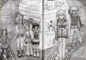 Take a look on Twilight Town Sketch no. 1 by HimmelMidgard