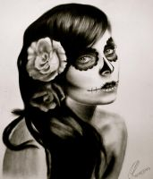 Sugar skull by Silk86