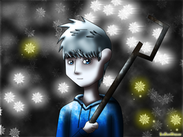 Rise of the Guardians (new fan art) - Jack Frost by JackFrostOverland