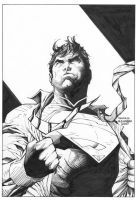 Jim Lee: Superman Wondercon by boysicat