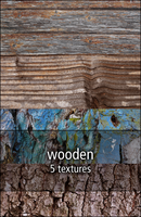 wooden textures by rainbows-stock