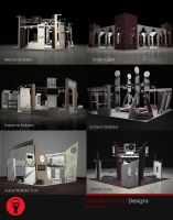 Exhibition Stands APMF by Naasim