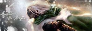 Drizzt by sikian