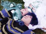 Miku and Kaito - Cantarella by Kharen94th