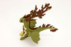 Tree dragon plush by hontor