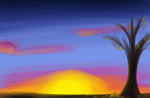 sunset by DSerpente