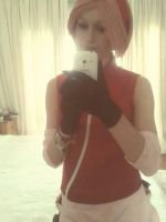 Got my Haruno Sakura outfit! by Cakez-chan