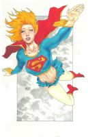 super girl marker by orphanshadow