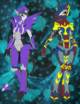 Request--Evaison and Silentdeath by Ninja-FormersJunkie