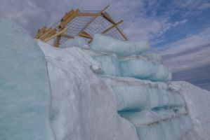 The end of an icehotel #6 by grumsetuff