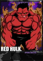 Red Hulk by RobertHall