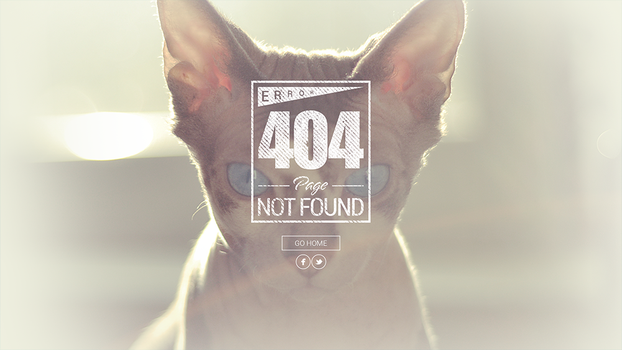 404 Page Hipster Style1 by BbInuTb