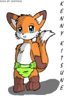 Badge of Kenny Kitsune by Zanten94