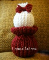 Loom Knit Doll - The Ball Dolly by LoomaHat