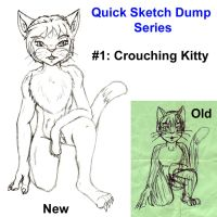 [QSDS] Crouching-Kitty by TimidTabby84