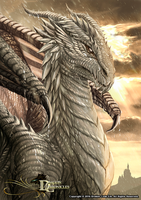 Dragon Chronicles - White Dragon by RobertCrescenzio