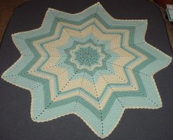 Maddy's Round Ripple Blanket by ArielManx