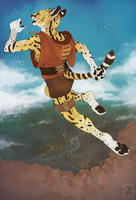 Serval Thief by malikaa
