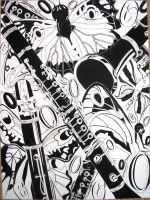 Clarinets and Butterflies by canuck-girl39