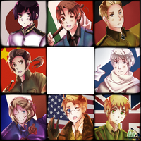Allied Axis Powers by BekonuIzado