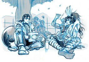Drinkparty with KG by rijinks
