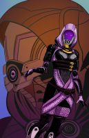 Tali Vas Kickass by Atomic-DNA