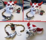 Blood Moon Thresh Poro by Daraya by Daraya-crafts