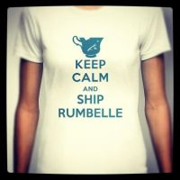 Keep calm and ship Rumbelle by snoprincess