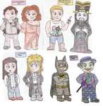 Eighties Icons by DelightfullyQuirky